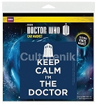 Car Magnet: Keep Calm I'm the Doctor