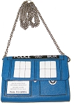 TARDIS Cross Purse with Chain Strap