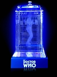 TARDIS with Matt Smith Crystal Carvings with LED Display