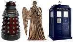 Dalek, Angel, and TARDIS Mini Standee Set