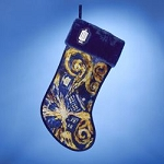Doctor Who Starry Night Christmas Stocking