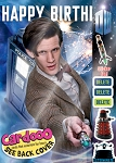 Doctor Who Birthday Card: Matt Smith