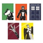 Doctor Who Greeting Cards: Pack of 5