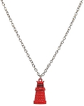 Doctor Who Red Dalek Necklace