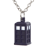 Doctor Who Full TARDIS Necklace