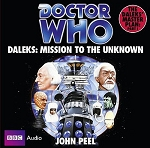 Doctor Who: The Mission to the Unknown (CD, Target)