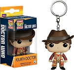 FUNKO Pop! Keychain: Fourth Doctor