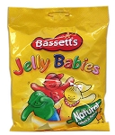 190g Bag of Maynards Bassetts Jelly Babies