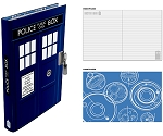TARDIS Lockable Journal