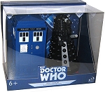 TARDIS and Dalek Sec Bluetooth Speakers