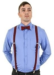 Doctor Who Eleventh Doctor's Red Suspenders