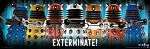 Doctor Who Poster Runner: Exterminate!