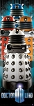 Doctor Who Poster Runner: New Paradigm Daleks