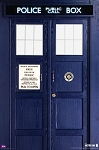 Doctor Who Poster: The TARDIS
