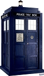 Standee: Season 6 TARDIS (Shipping Included in Price) - CONTINENTAL USA ONLY