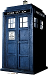 Standee: The TARDIS (Shipping Included in Price) - CONTINENTAL USA ONLY