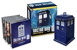 TARDIS Collectible Figurine and Illustrated Book