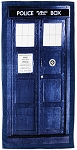 Doctor Who TARDIS Beach/Bath Towel