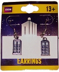 Earrings: TARDIS Danglers