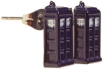 Doctor Who TARDIS Stud Earrings