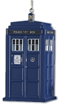 TARDIS Plastic Christmas Ornament