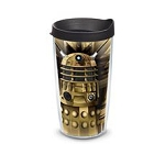 Doctor Who 16oz Dalek Tumbler with Lid