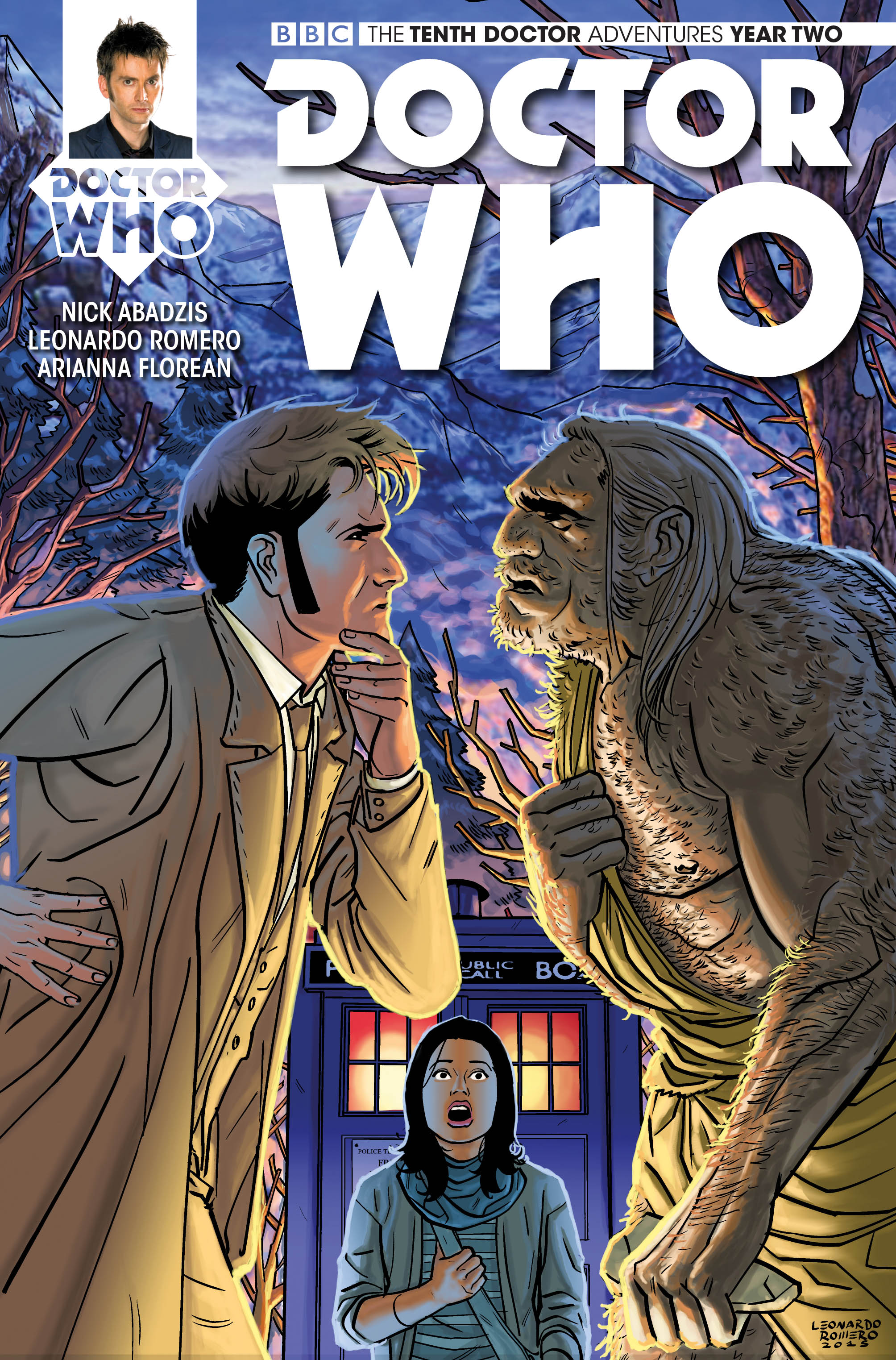 Doctor Who Comic: Tenth Doctor, Year 2, Issue 04