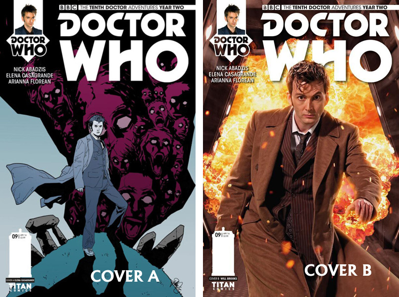 Doctor Who Comic: Tenth Doctor, Year 2, Issue 09