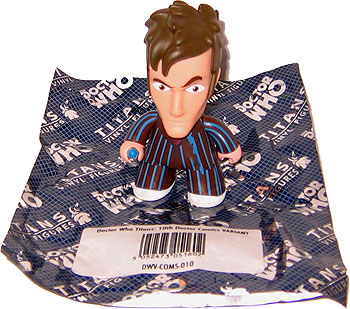 Titans Doctor Who Vinyl Figure, 10th Doctor Comics VARIANT (Rare)
