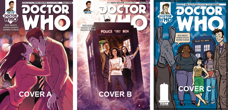 Doctor Who Comic: Tenth Doctor, Year 3, Issue 14
