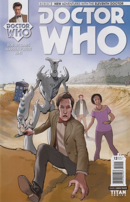 Doctor Who Comic: Eleventh Doctor, Issue 12