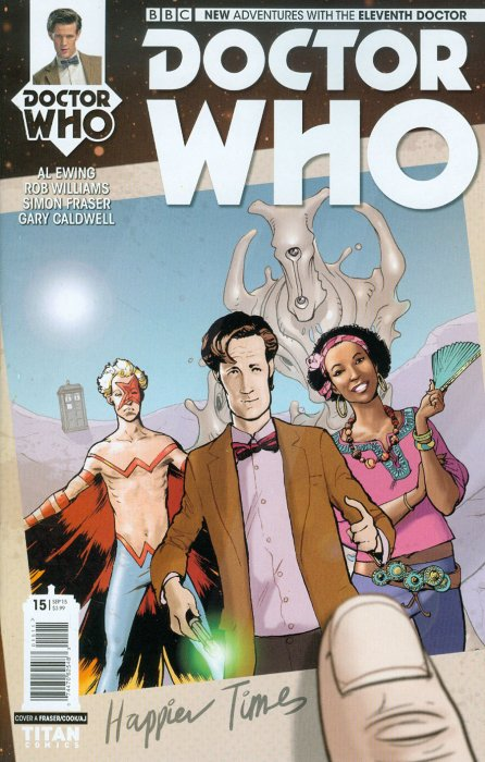 Doctor Who Comic: Eleventh Doctor, Issue 15