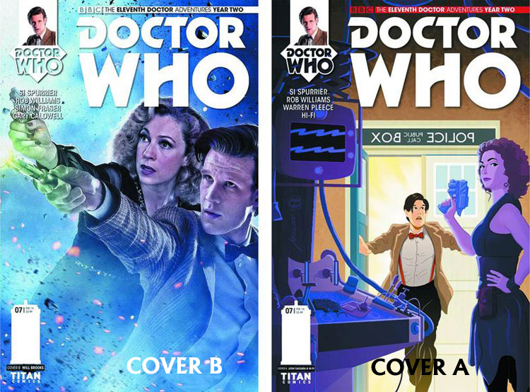 Doctor Who Comic: Eleventh Doctor, Year 2, Issue 07