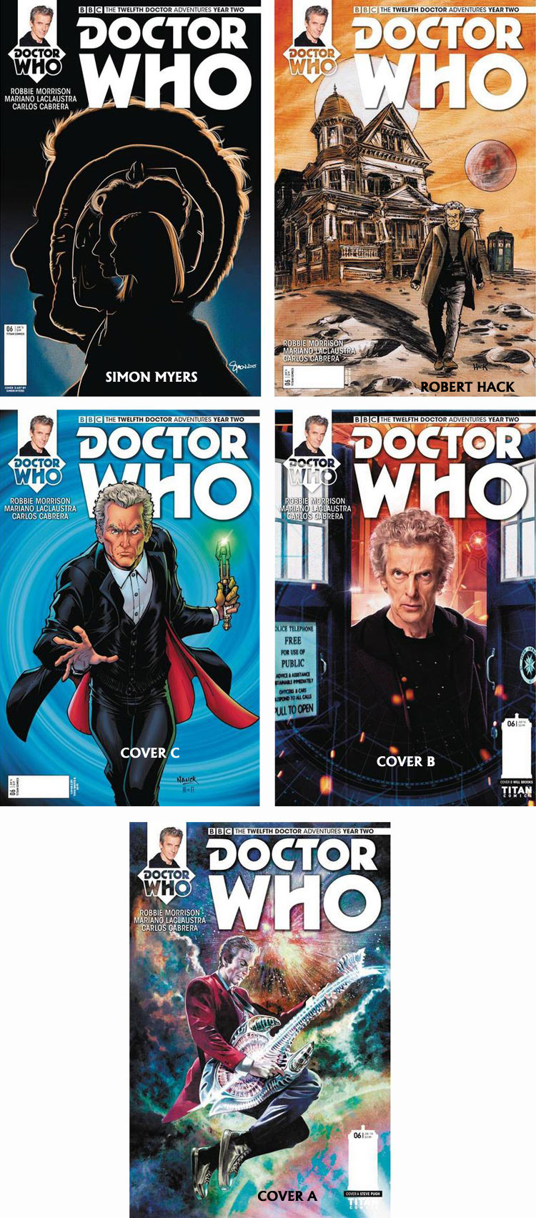Doctor Who Comic: Twelfth Doctor, Year 2, Issue 06