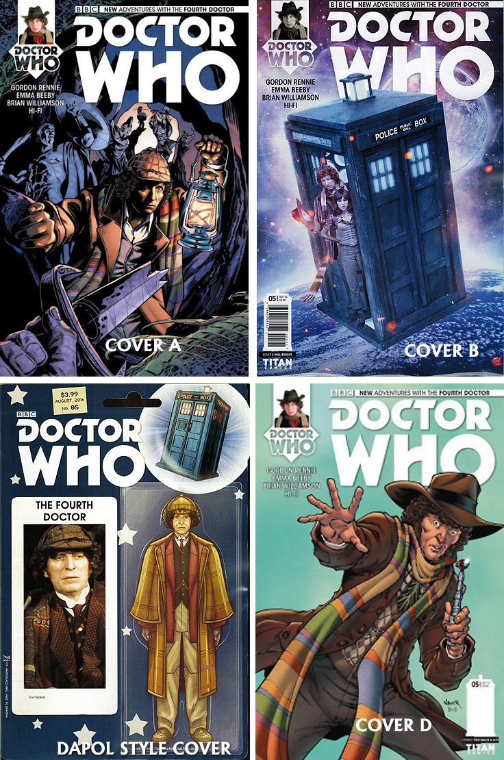 Doctor Who Comic: Fourth Doctor, Issue 05