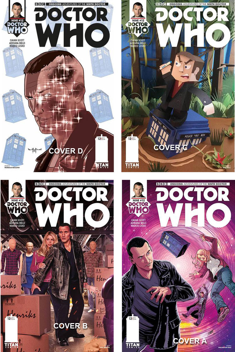 Doctor Who Comic: Ninth Doctor, Issue 12