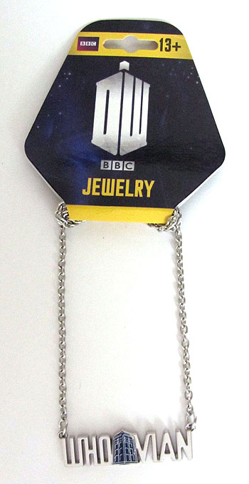 Doctor Who Whovian (Blue TARDIS) Necklace