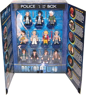 Doctor Who Eleven Doctors Micro Figure Set