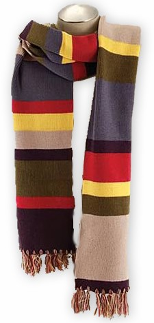 Doctor Who 12 Ft Scarf