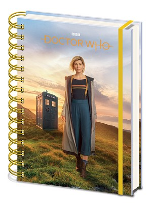 13th Doctor Lined Notebook