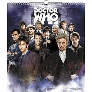 Doctor Who 12-Month Special 2018 Calendar