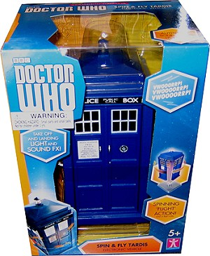 "3.75"" Scale Spin and Fly TARDIS"