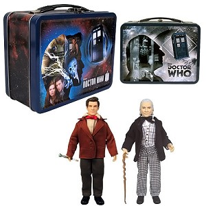 "50th Anniversary Tin Tote with 2 x 8"" Action Figures"
