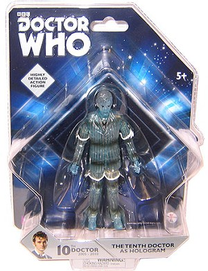 "5"" 10th Doctor as Hologram"