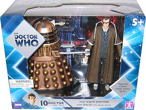 "5"" 10th Doctor and Crucible Dalek"