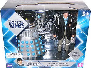"5"" 2nd Doctor and Dalek"