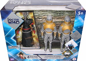 "5"" Pyramids of Mars (Sutekh, 2 Mummies) Collectors' Set"