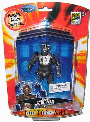 "5"" Damaged Cyberman (Numbered SDCC Exclusive) Non-Mint Packaging"