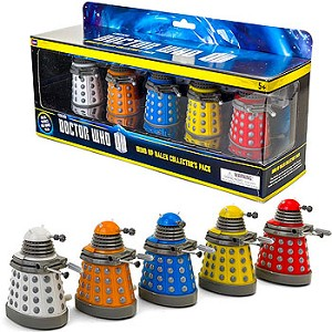 Doctor Who Wind Up Dalek Collector's Pack