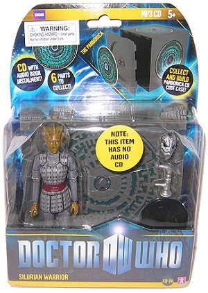 "5"" Silurian Warrior with Pandorica Wall"